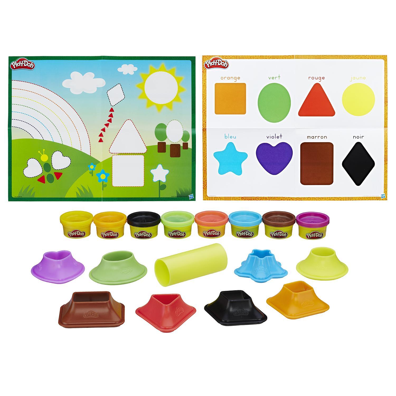 Игровой набор Play-Doh - Цвета и формыПластилин Play-Doh<br>Игровой набор Play-Doh - Цвета и формы<br>