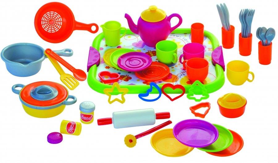 Большой детский кулинарный набор № 2, 52 предмета