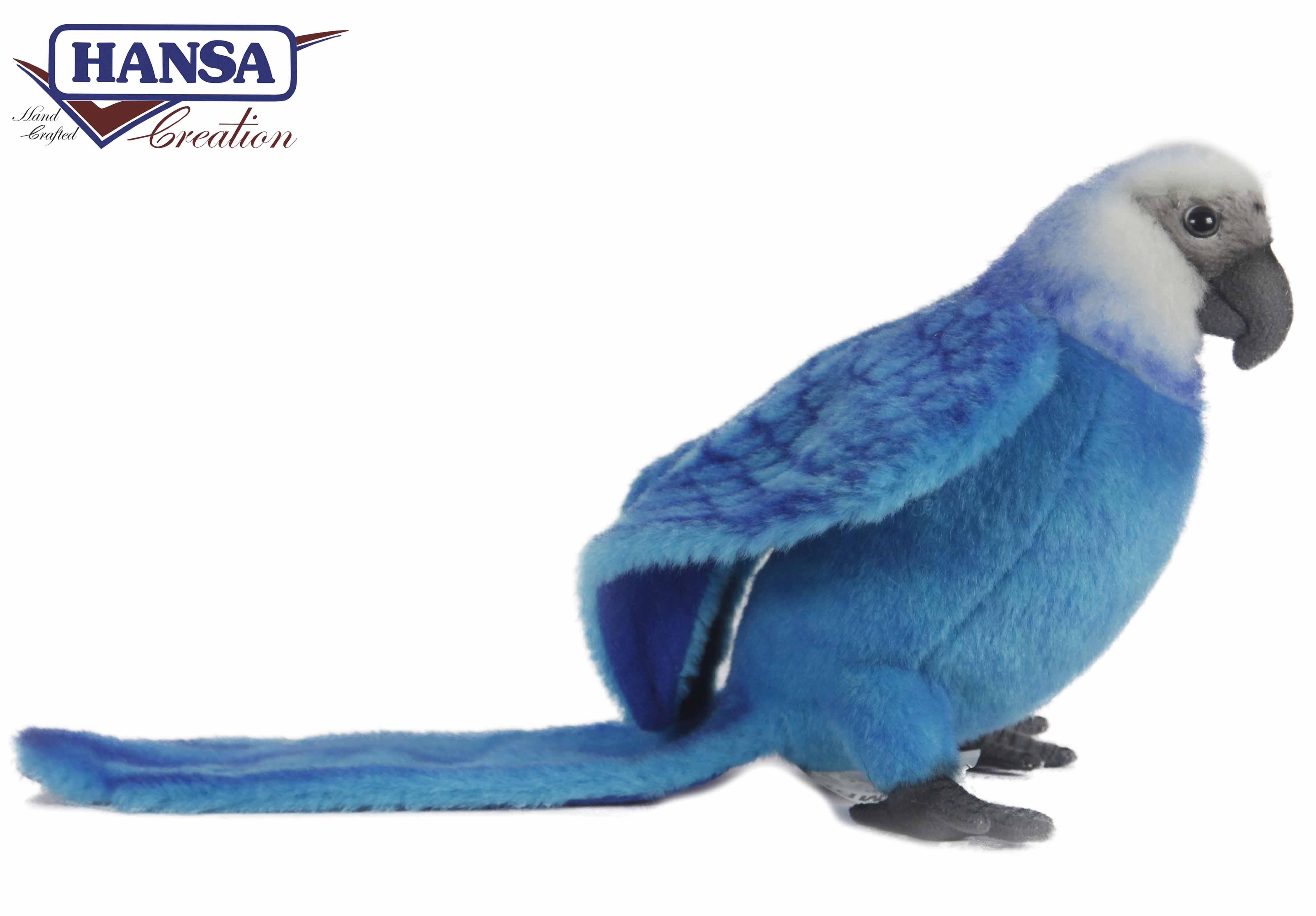 Мягкая игрушка – Голубой Ара, 27 см