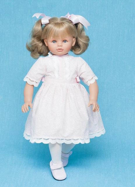 Кукла Пепа в розовом платье, 60 см.Куклы ASI (Испания)<br>Кукла Пепа в розовом платье, 60 см.<br>