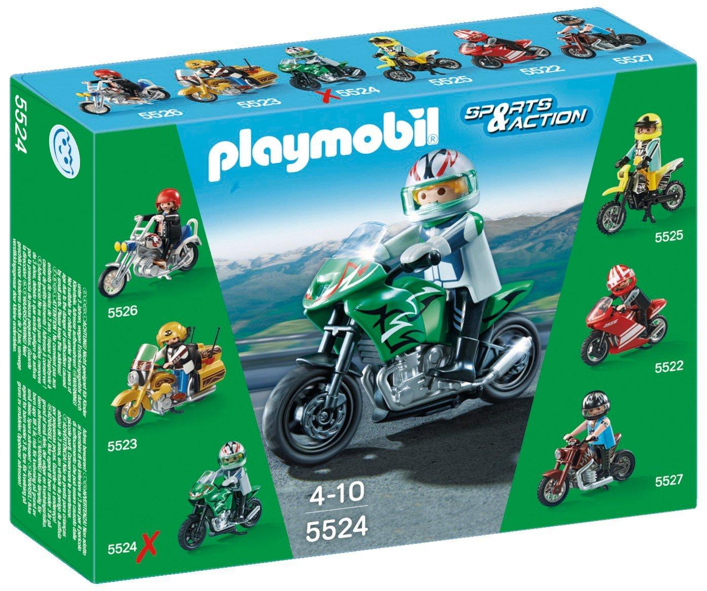 Игровой набор из серии Коллекция мотоциклов - Спортивный мотоцикл