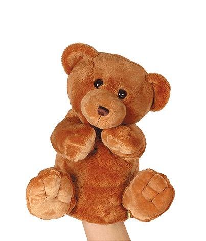 Рукавичка медведь GulliverДетский кукольный театр <br>Рукавичка медведь Gulliver<br>