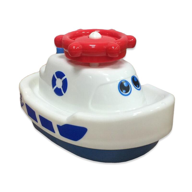 Катер для ванной, электромеханический, 3 вида - Веселое купаниеКорабли и катера в ванну<br>Катер для ванной, электромеханический, 3 вида - Веселое купание<br>