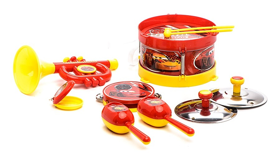 Набор музыкальных инструментов Disney «Тачки»CARS 3 (Игрушки Тачки 3)<br>Набор музыкальных инструментов Disney «Тачки»<br>