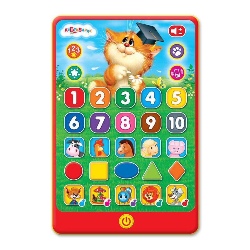 Игровой планшетик – Веселые знания, звук фото