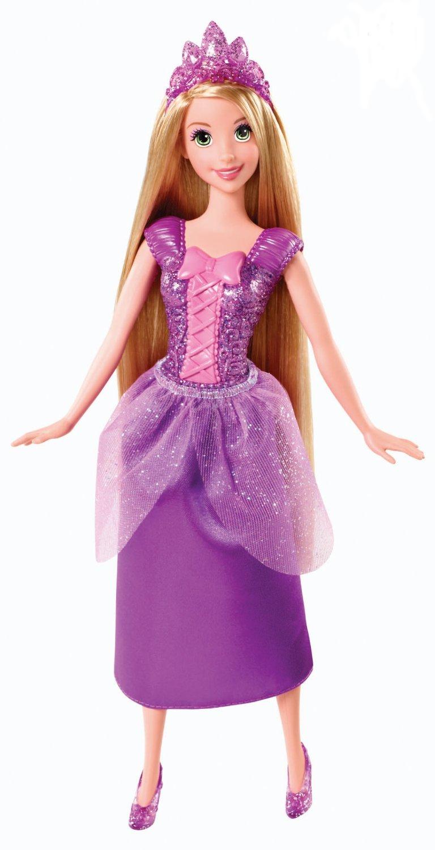Рапунцель в сверкающем наряде серии Принцесса Диснея - Куклы и пупсы, артикул: 93486