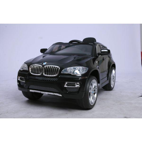 Машина BMW на аккумуляторе, чернаяЭлектромобили, детские машины на аккумуляторе<br>Машина BMW на аккумуляторе, черная<br>