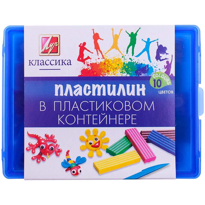 Пластилин – Классика, 10 цветовНаборы для лепки<br>Пластилин – Классика, 10 цветов<br>