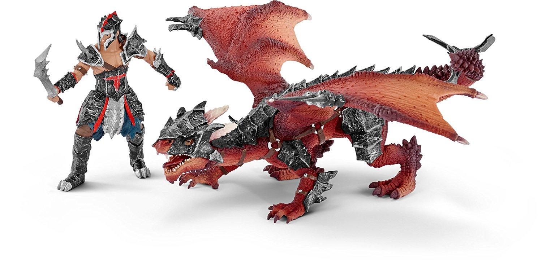 Набор фигурок - Воин с дракономЗамки, рыцари, крепости, пираты<br>Набор фигурок - Воин с драконом<br>