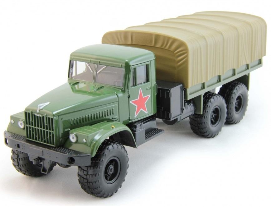 Машинка KRAZ-255B армейскаяВоенная техника<br>Машинка KRAZ-255B армейская<br>