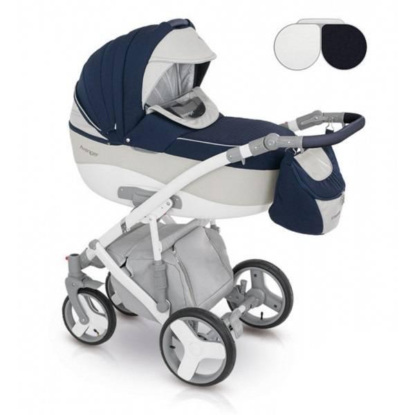 Детская коляска Camarelo Avenger Lux 2 в 1, цвет - Av_01Детские коляски 2 в 1<br>Детская коляска Camarelo Avenger Lux 2 в 1, цвет - Av_01<br>