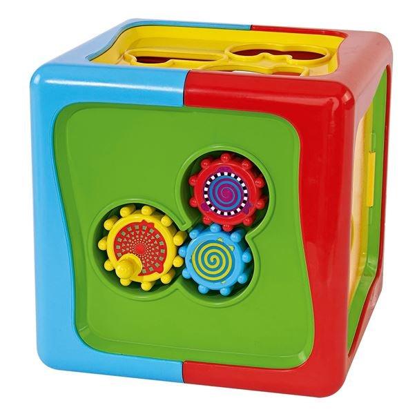 """Сортер """"Куб"""" с цифрами и фигурами от Toyway"""