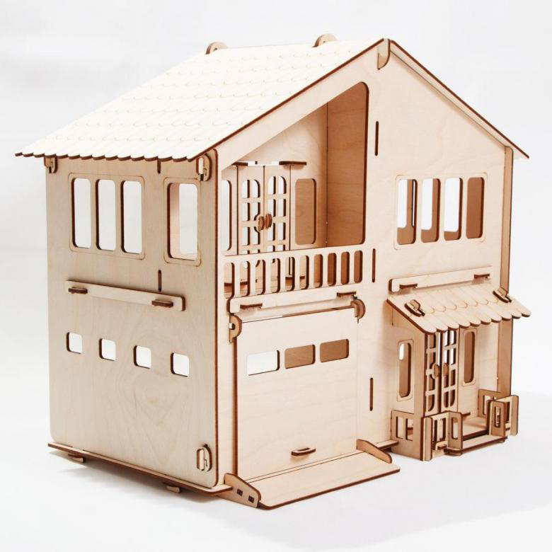 Конструктор – Дом с гаражом