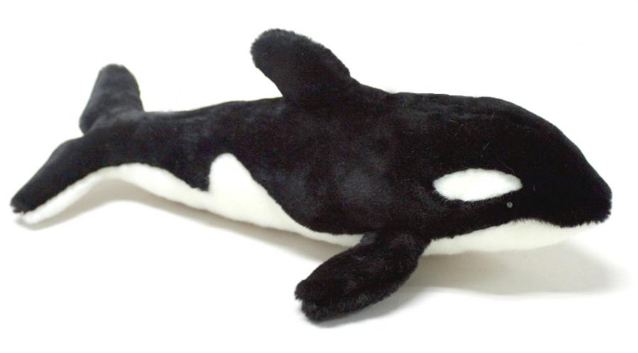 Мягкая игрушка - Касатка, 40 см.Дикие животные<br>Мягкая игрушка - Касатка, 40 см.<br>