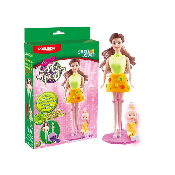 Масса для лепки Мой стиль - набор для создания наряда для куклы, СюзаннаНаборы для лепки<br>Масса для лепки Мой стиль - набор для создания наряда для куклы, Сюзанна<br>