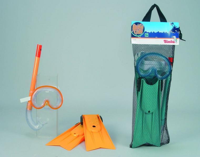 Набор: маска, трубка и ластыМаски, ласты, трубки для плавания<br>Набор: маска, трубка и ласты<br>
