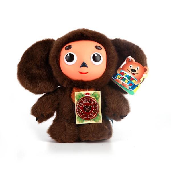 Купить Мягкая Игрушка Чебурашка 17 см., с пластиковой мордочкой, озвученная, Мульти-Пульти