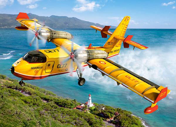 Пазл Castorland 300 миди деталей, Самолет Пазлы 300+ элементов<br>Пазл Castorland 300 миди деталей, Самолет<br>