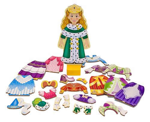 """Набор """"Переодень принцессу Элис"""" из серии """"Магнитные игры"""" от Toyway"""