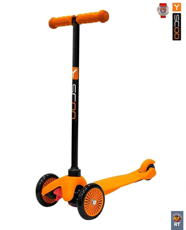 Самокат RT Mini Simple A5, orangeТрехколесные самокаты<br>Самокат RT Mini Simple A5, orange<br>