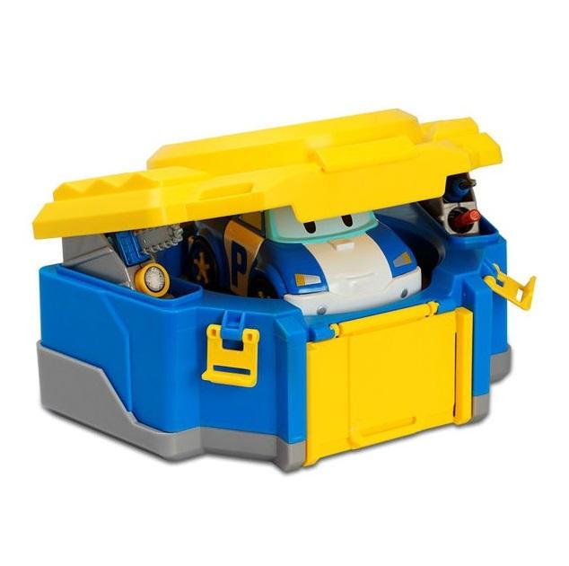 Кейс для трансформера Поли, Poli RobocarRobocar Poli. Робокар Поли и его друзья<br>Кейс для трансформера Поли, Poli Robocar<br>