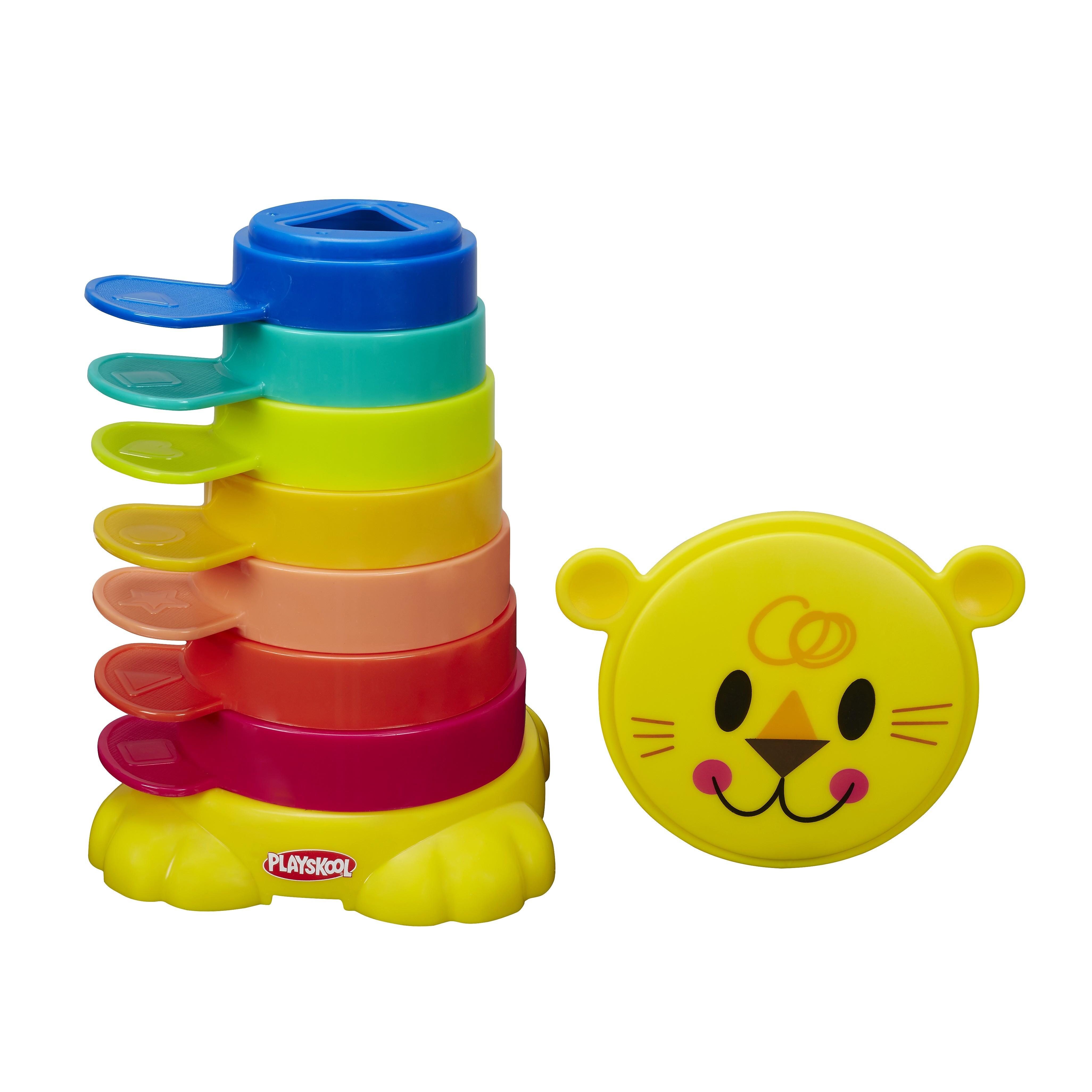 Пирамидка-львенок Playskool - Возьми с собойРазвивающие игрушки PLAYSKOOL (Hasbro)<br>Пирамидка-львенок Playskool - Возьми с собой<br>
