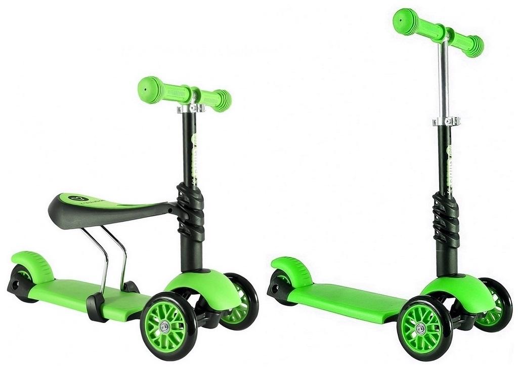 Самокат-каталка Glider Seat greenМашинки-каталки для детей<br>Самокат-каталка Glider Seat green<br>