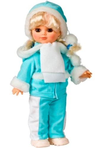 Кукла Лена 11 со звуковым эффектом, 35 смРусские куклы фабрики Весна<br>Кукла Лена 11 со звуковым эффектом, 35 см<br>