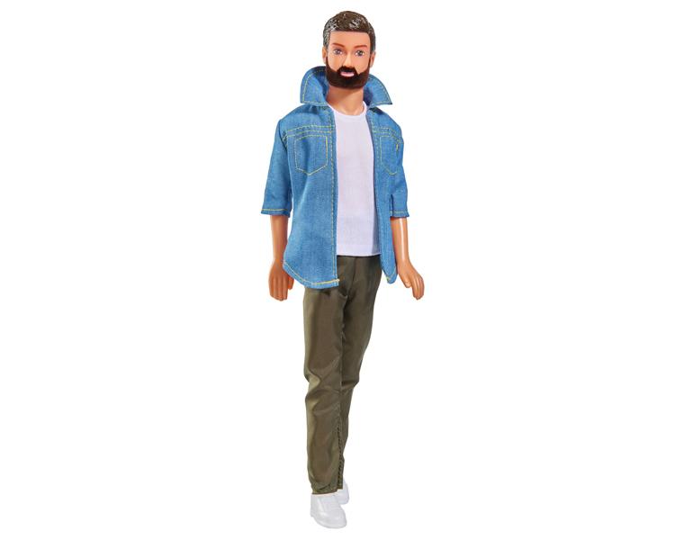 Купить Кукла Кевин с бородой в брюках, 30 см, Simba