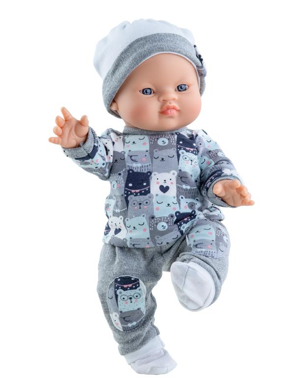 Купить Кукла - Горди Хон, 34 см, мальчик, Paola Reina