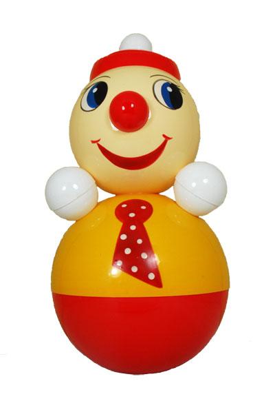Неваляшка Клоун, 21см.Неваляшки<br>Неваляшка Клоун, 21см.<br>