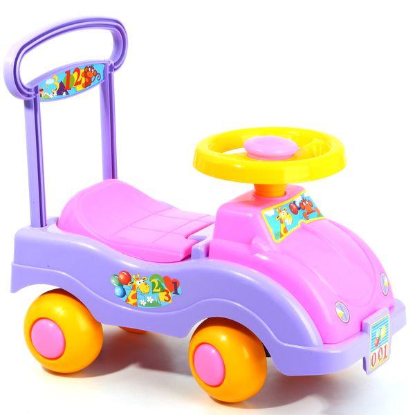 Автомобиль-каталка для девочекМашинки-каталки для детей<br>Автомобиль-каталка для девочек<br>