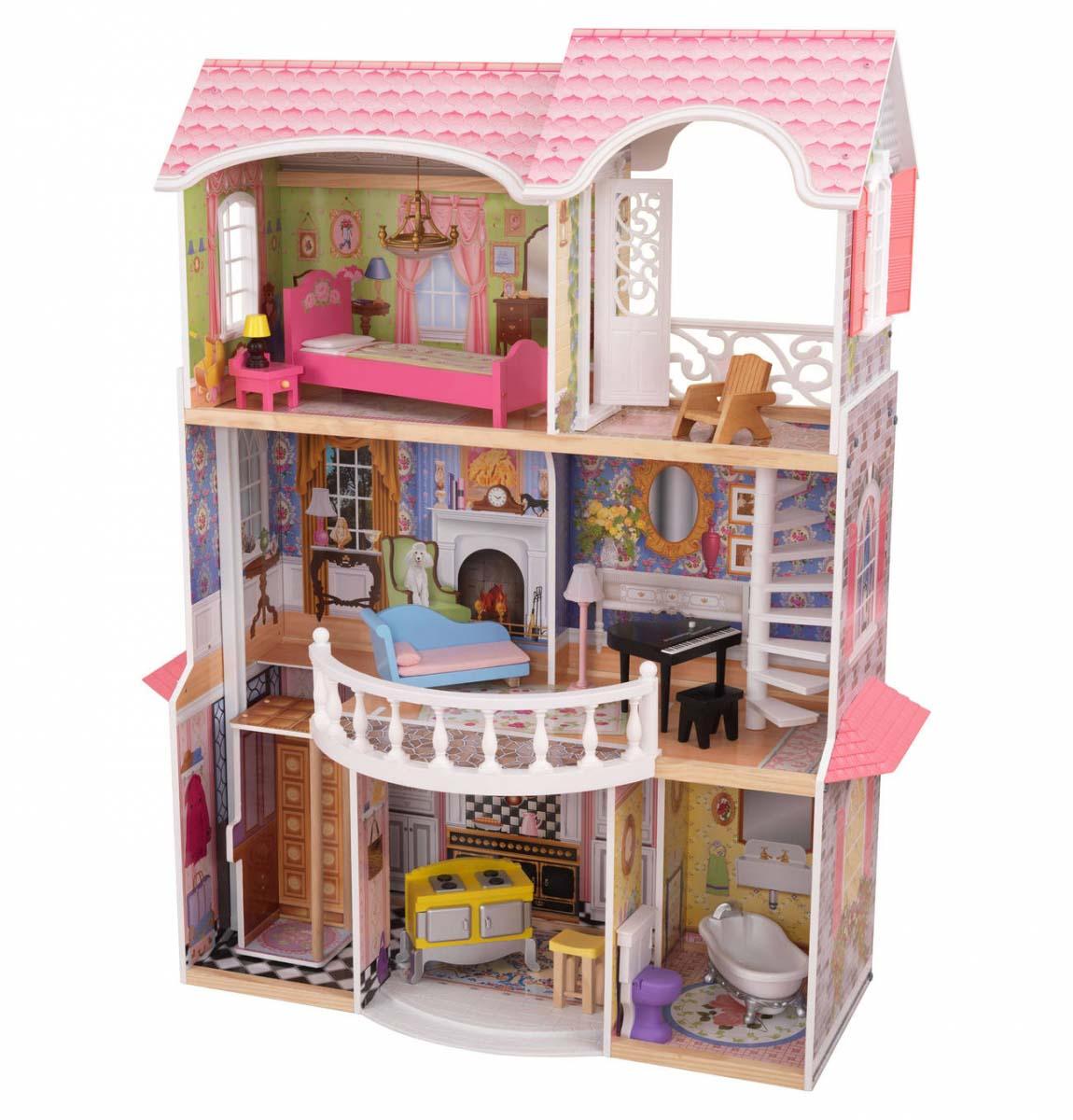 Винтажный кукольный дом для Барби - МагнолияКукольные домики<br>Винтажный кукольный дом для Барби - Магнолия<br>
