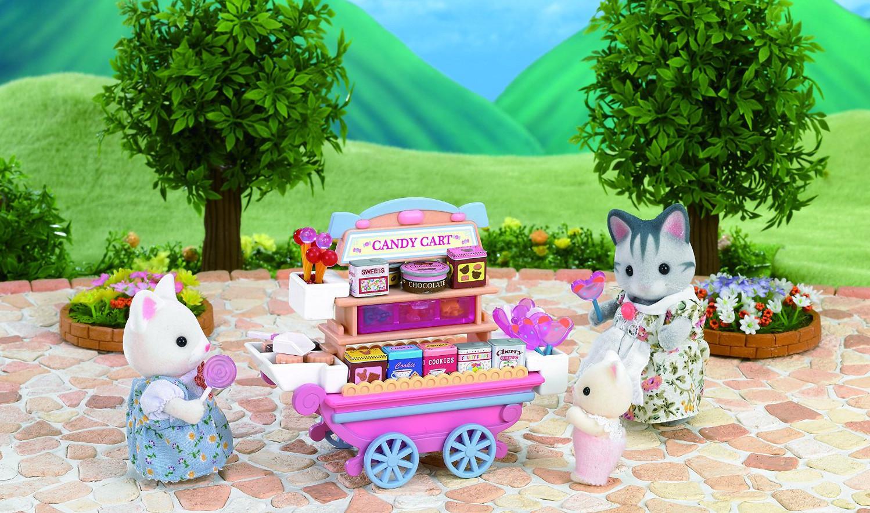 Набор - Тележка со сладостямиПокупки и Продукты<br>Набор - Тележка со сладостями<br>