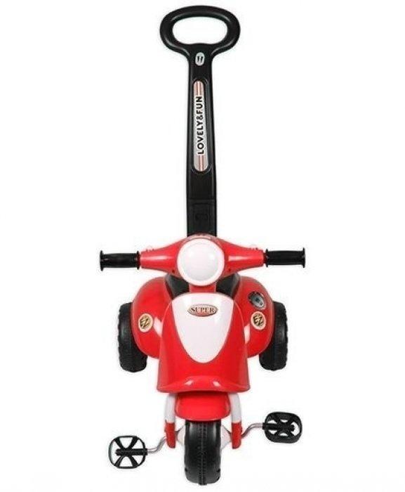 Детская красная каталка Smart Trike, звуковые эффектыМашинки-каталки для детей<br>Детская красная каталка Smart Trike, звуковые эффекты<br>