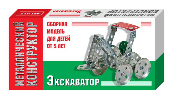 Металлический конструктор Экскаватор