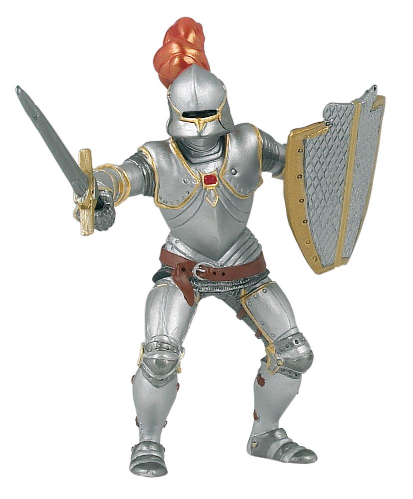 Фигурка Рыцарь в доспехах красный