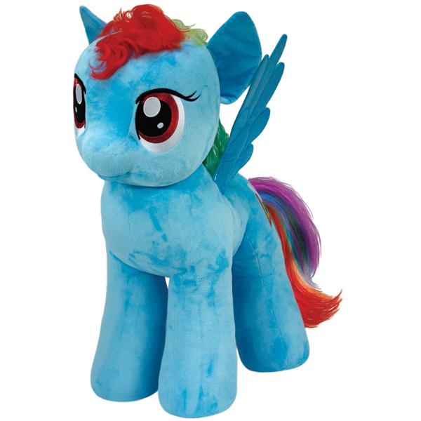 Мягкая пони Rainbow Dash, 70 см.Моя маленькая пони (My Little Pony)<br>Мягкая пони Rainbow Dash, 70 см.<br>