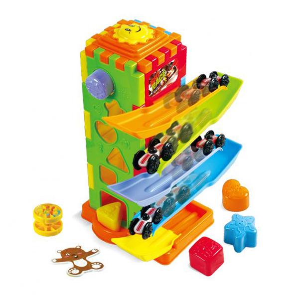 Развивающая игрушка - Башня испытаний 5 в 1 от Toyway