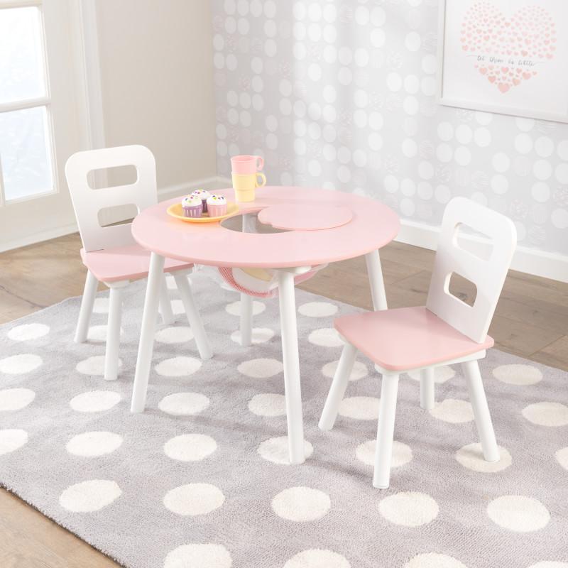 Купить Детская мебель – Стол и 2 стула. Звезда, KidKraft