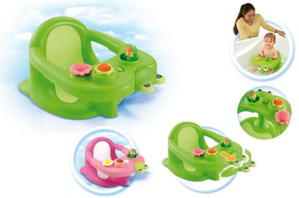Стульчик для купания Smoby CotoonsВанночки для купания<br>Стульчик для купания Smoby Cotoons<br>