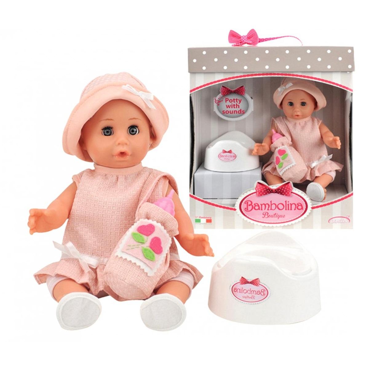 Кукла Bambolina Boutique с аксессуарами, 36 см.