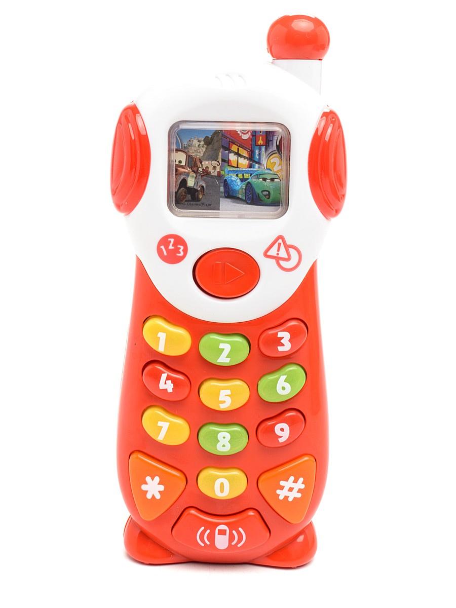 Обучающий мобильный телефон ТачкиСкидки до 70%<br>Обучающий мобильный телефон Тачки<br>