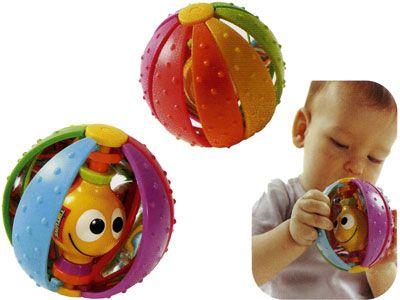 Волшебный шарик c зеркальными дольками - Детские погремушки и подвесные игрушки на кроватку, артикул: 6081