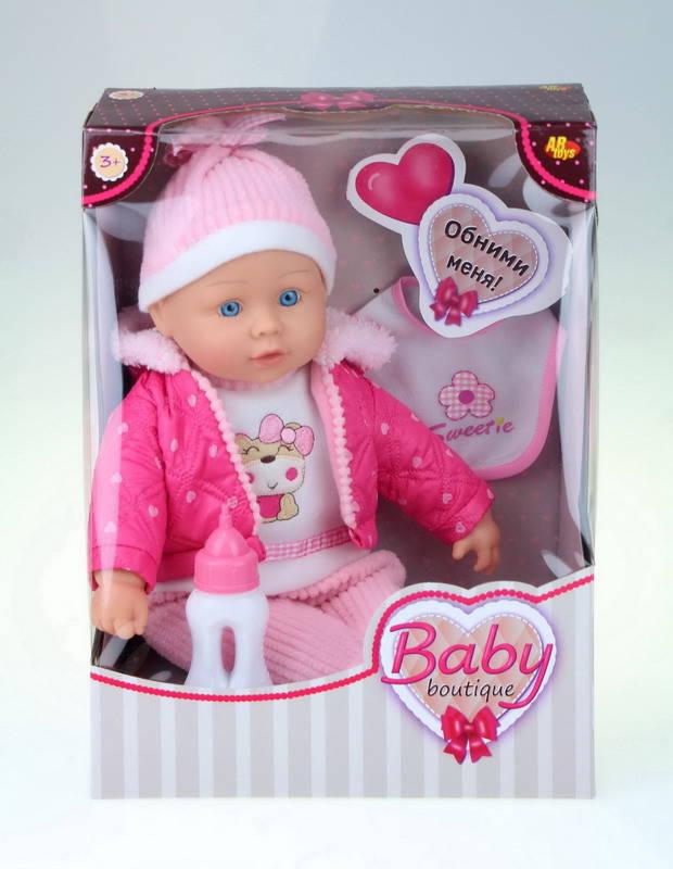 Купить Кукла Baby boutique, 40 см, с аксессуарами, ABtoys