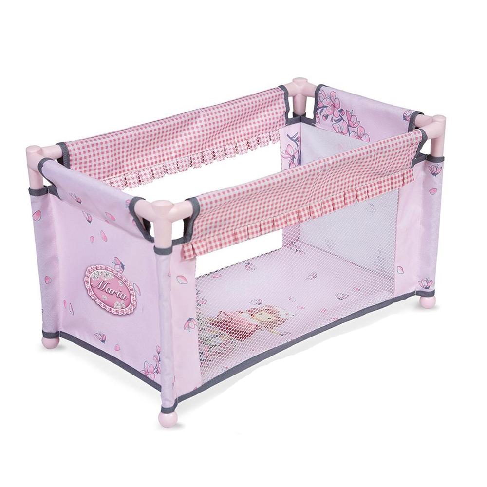 Манеж-кроватка для куклы  Мария, 50 см - Детские кроватки для кукол, артикул: 166729