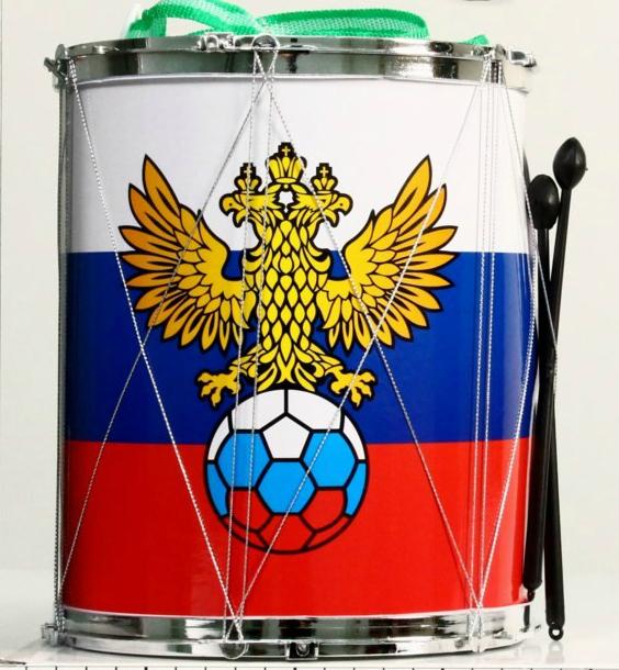 Барабан Флаг РоссииБарабаны, маракасы<br>Барабан Флаг России<br>