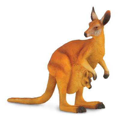 Фигурка Gulliver Collecta - Красный кенгуруДикая природа (Wildlife)<br>Фигурка Gulliver Collecta - Красный кенгуру<br>