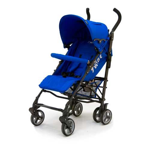 Коляска трость Twist, BlueДетские коляски Capella Jetem, Baby Care<br>Коляска трость Twist, Blue<br>