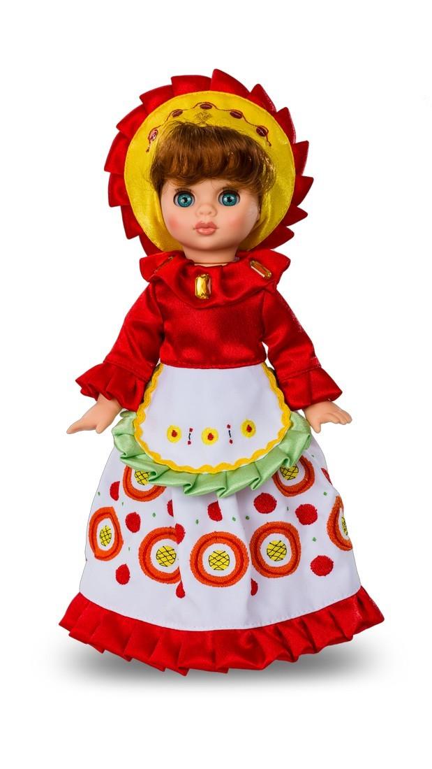 Кукла Эля Дымковская барыня 30,5 смРусские куклы фабрики Весна<br>Кукла Эля Дымковская барыня 30,5 см<br>